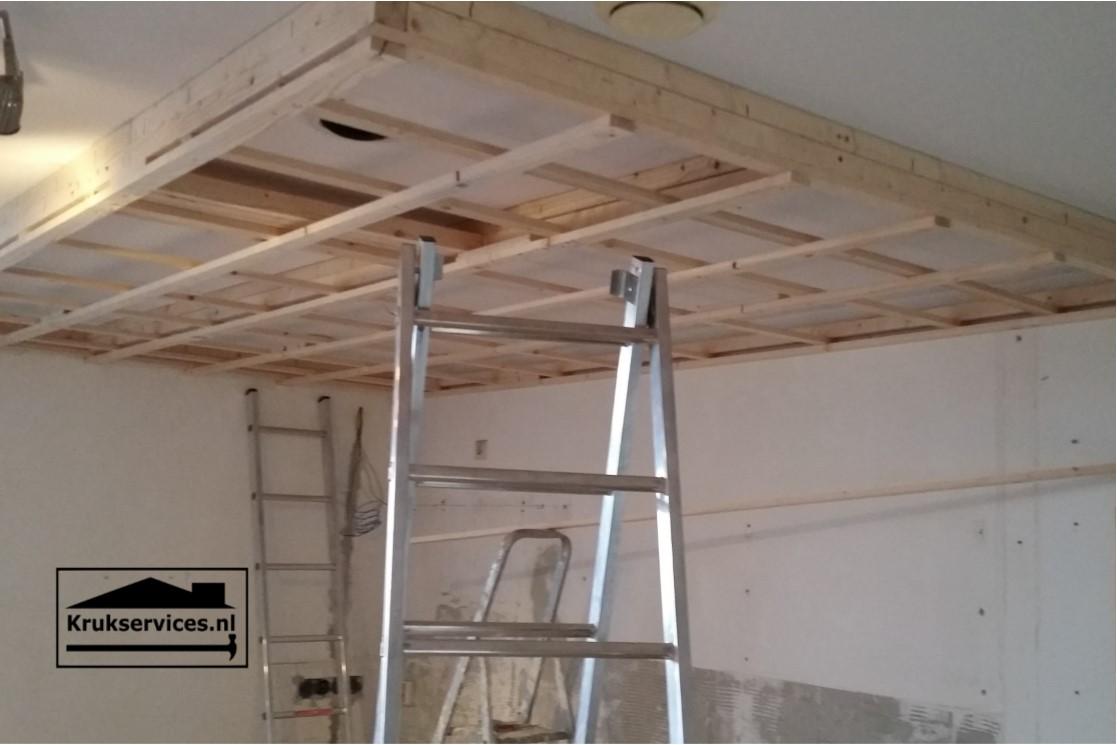 Plafonds verlagen
